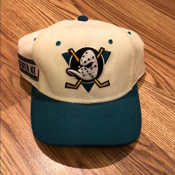 Vintage Accessories Vtg Mighty Ducks Hat Poshmark